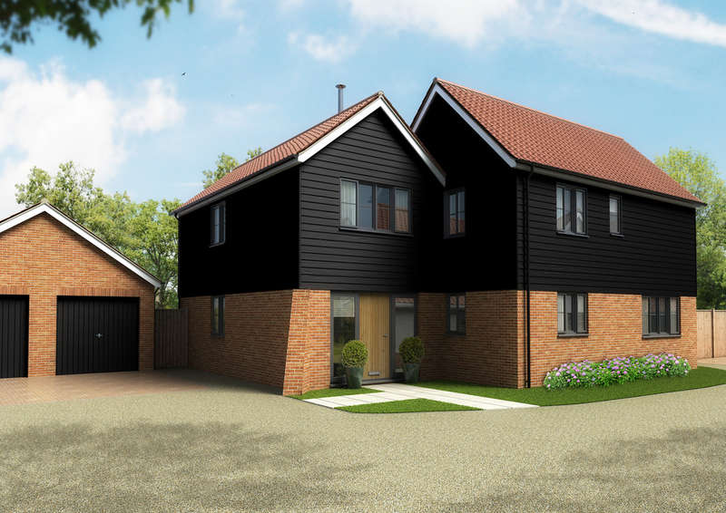 3 Bedrooms Detached House for sale in The Radley, Bell Green, Cratfield