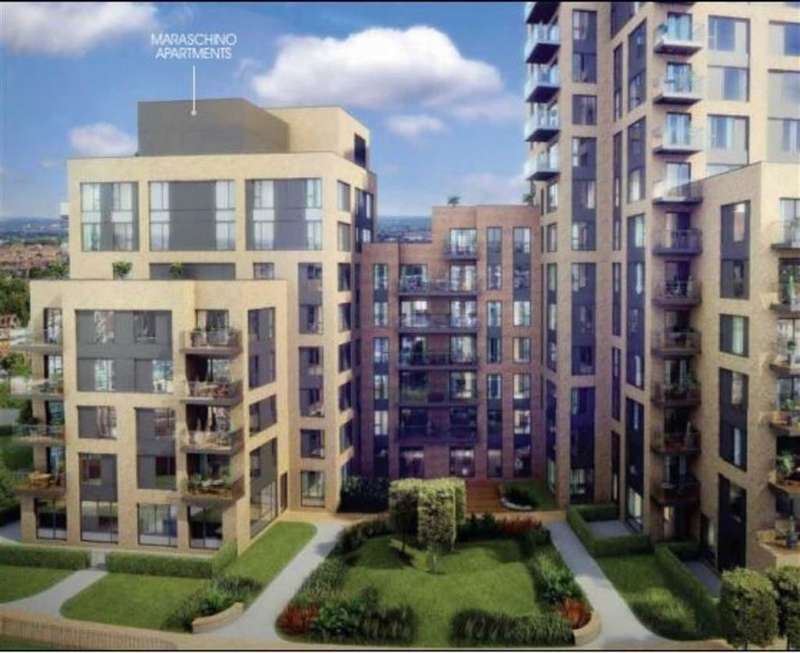 2 Bedrooms Property for sale in Santina Apartments, East Croydon, London, CR0