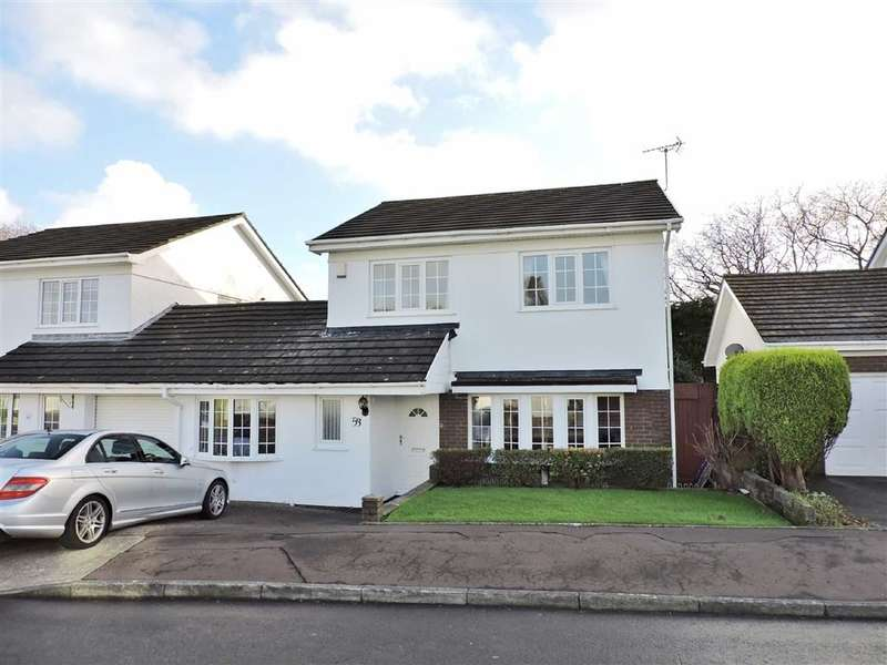 3 Bedrooms Link Detached House for sale in St. Andrews Close, Mayals