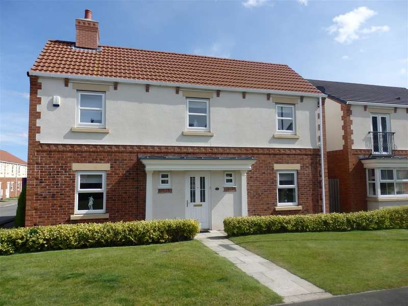 4 Bedrooms Detached House for sale in Lavender Crescent, Spennymoor