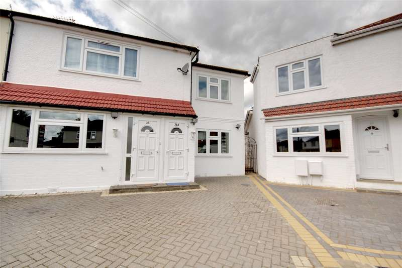 3 Bedrooms Maisonette Flat for sale in Willowbrook Road, Stanwell, Surrey, TW19