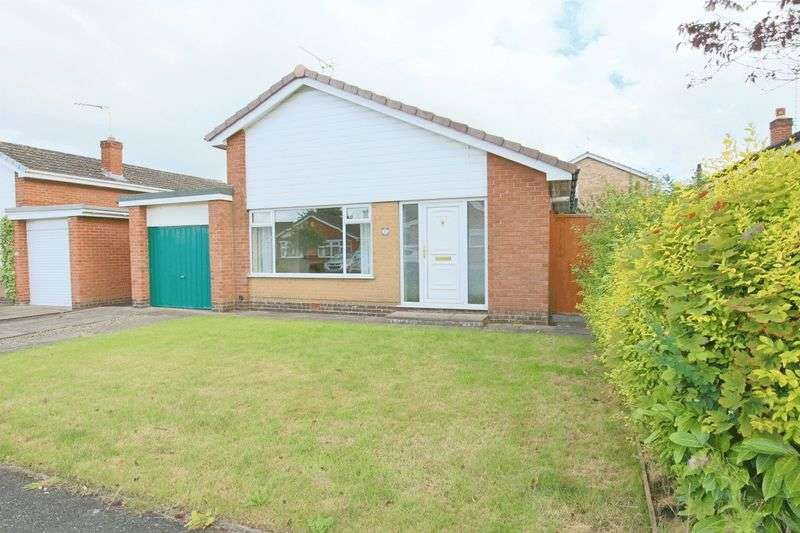 3 Bedrooms Detached Bungalow for sale in Delamere Road, Nantwich