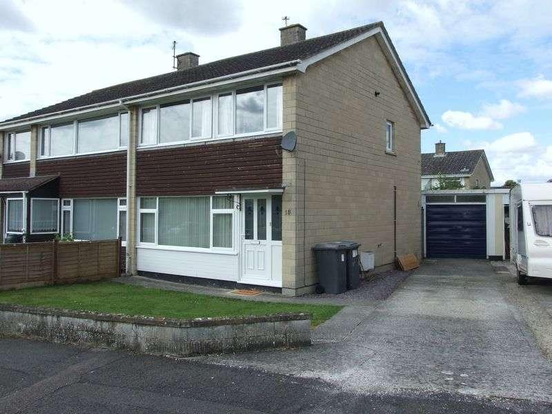 3 Bedrooms Semi Detached House for sale in Westmead Crescent, Trowbridge