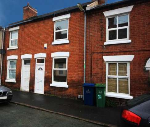 2 Bedrooms Terraced House for sale in Victoria Terrace, Stafford, Staffordshire, ST16 3HB