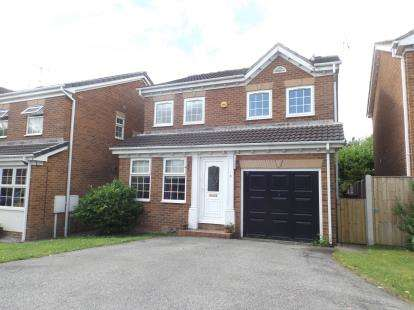 4 Bedrooms Detached House for sale in Birley Croft, Upper Newbold, Chesterfield, Derbyshire