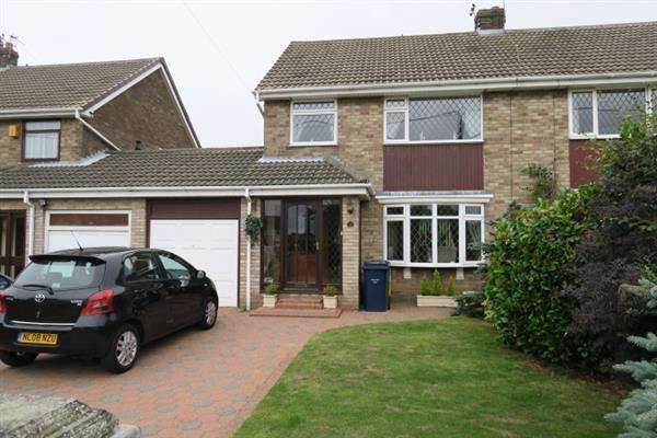 3 Bedrooms Semi Detached House for sale in Burdon Road, Cleadon