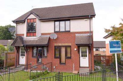 2 Bedrooms Semi Detached House for sale in Scarrel Drive, Glasgow, Lanarkshire