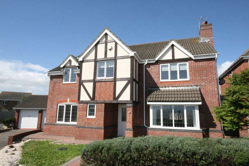 5 Bedrooms Detached House for sale in 5 Rhodfar Mor, Rhoose, Barry, Vale of Glamorgan. CF62 3LE
