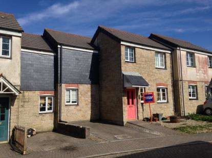 3 Bedrooms Terraced House for sale in Penwithick, St. Austell, Cornwall
