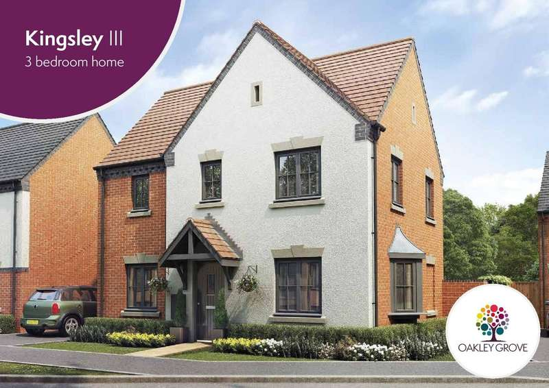 3 Bedrooms Detached House for sale in Plot 8 Kingsley III Oakley Grove