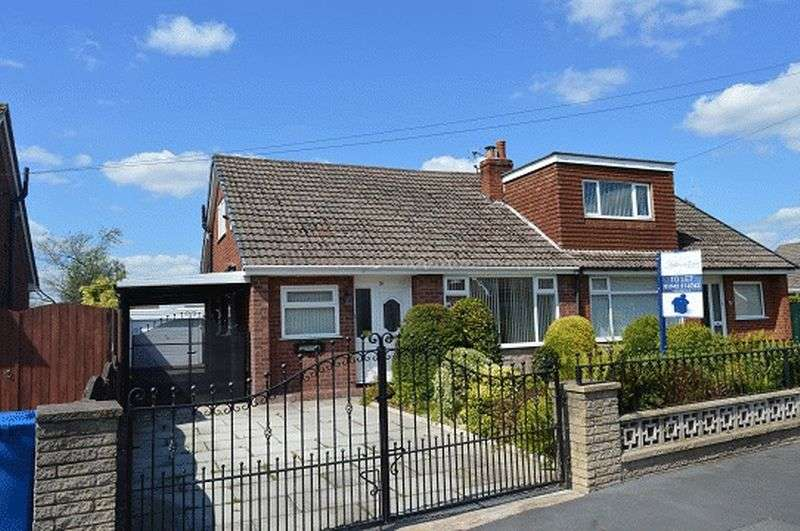 3 Bedrooms Semi Detached Bungalow for sale in Wensley Road, Lowton, WA3 2BA