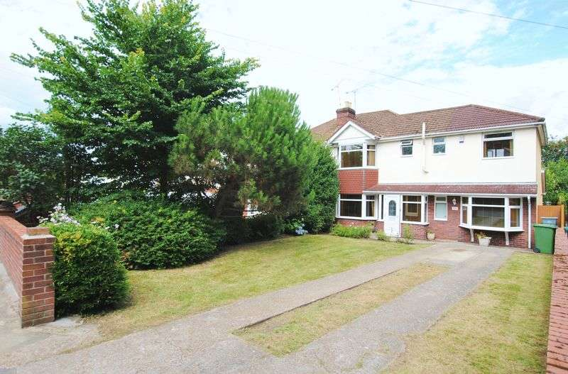 4 Bedrooms Semi Detached House for sale in Spring Road, Sholing