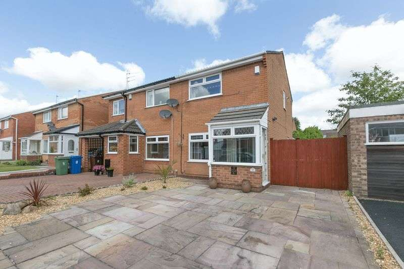 2 Bedrooms Semi Detached House for sale in Churchfield, Shevington, WN6 8BE