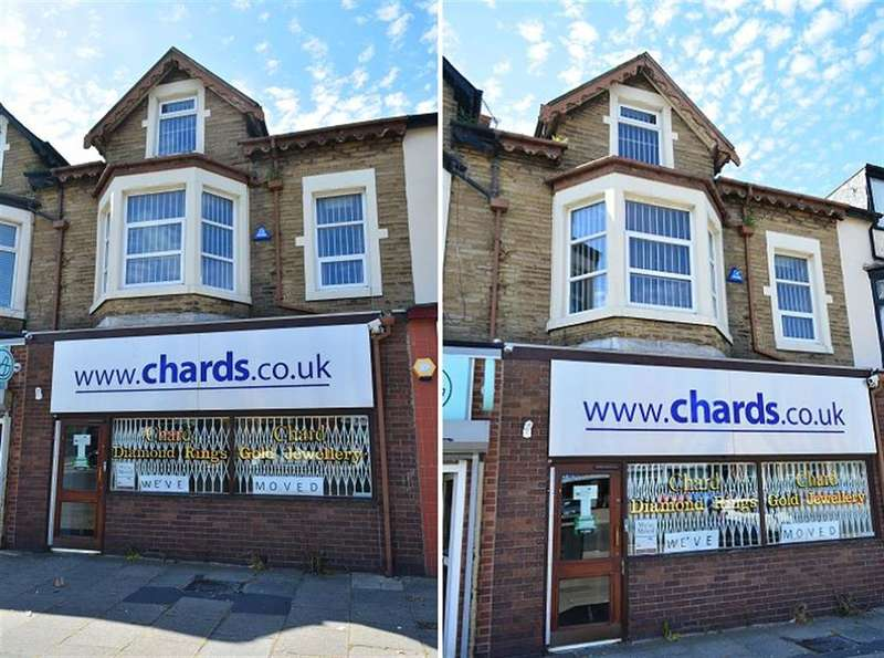 1 Bedroom Commercial Property for sale in Lytham Road, South Shore, Blackpool, FY4 1TE