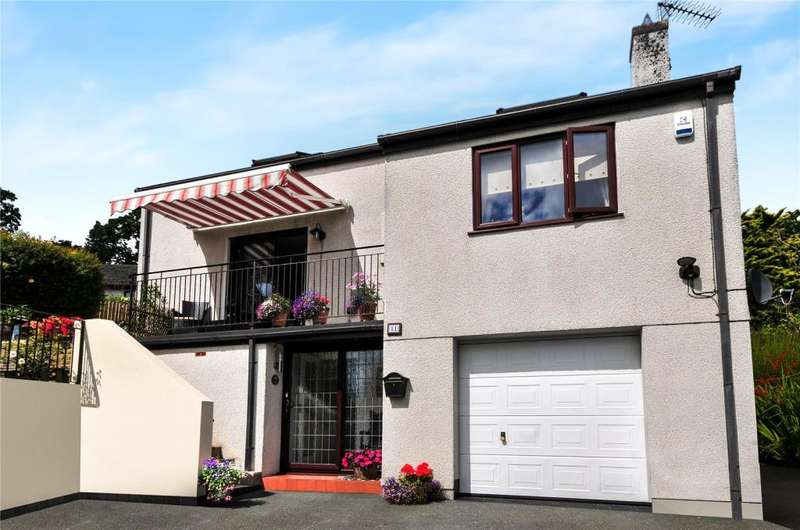 4 Bedrooms Detached House for sale in Creekside View, Tresillian, Truro
