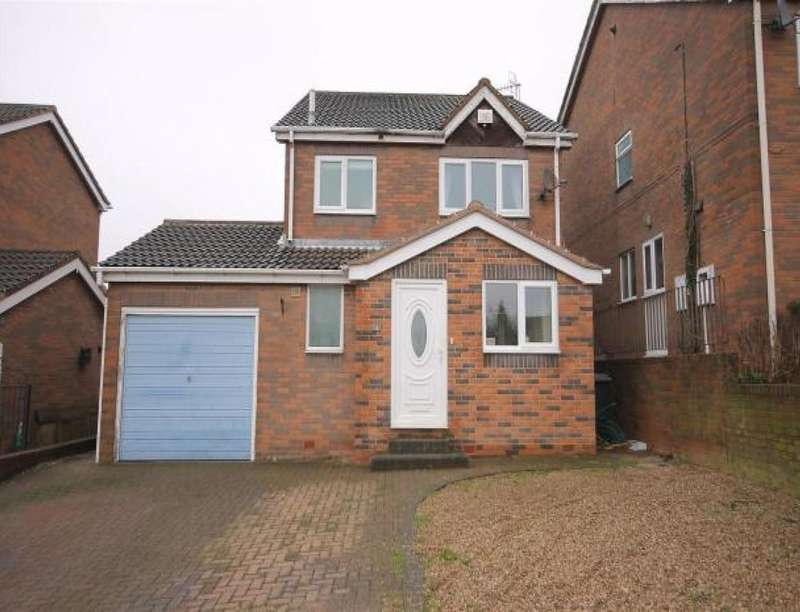 3 Bedrooms Detached House for sale in Eastern Avenue, Bolsover, Chesterfield, S44