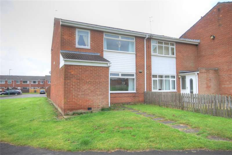 3 Bedrooms Semi Detached House for sale in Aylward Place, Stanley, Durham, DH9