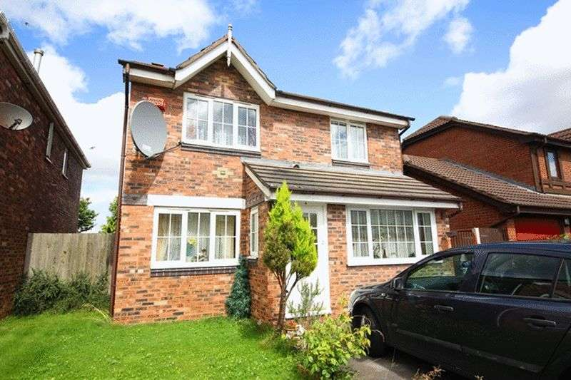 4 Bedrooms Detached House for sale in Hever Drive, Halewood, Liverpool, L26