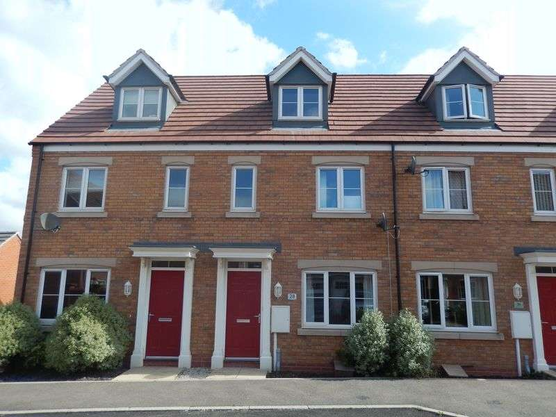 3 Bedrooms Semi Detached House for sale in Frome Gardens, Bingham