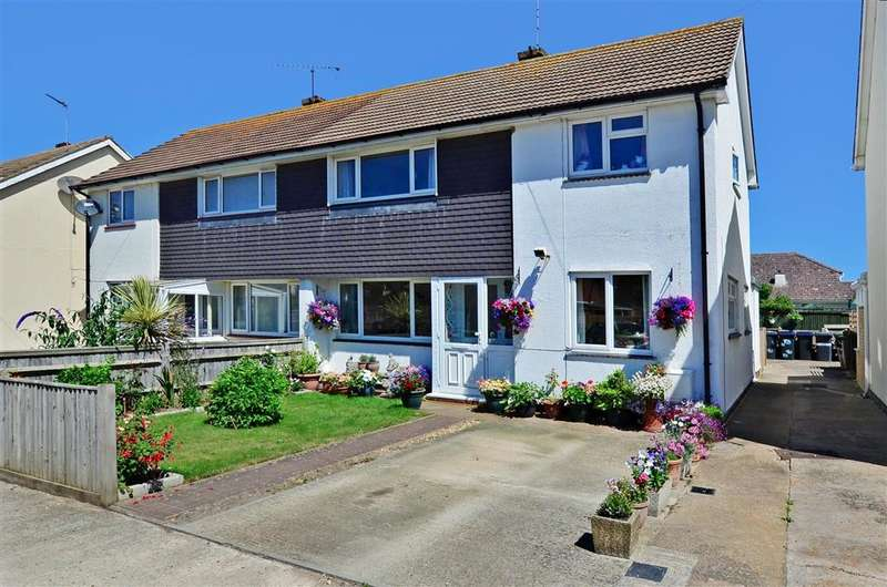 3 Bedrooms Semi Detached House for sale in Southsea Drive, Herne Bay, Kent