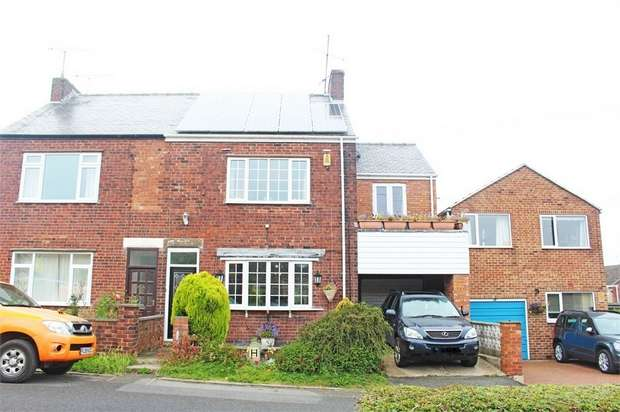 4 Bedrooms Semi Detached House for sale in Westwood Lane, Brimington, Chesterfield, Derbyshire