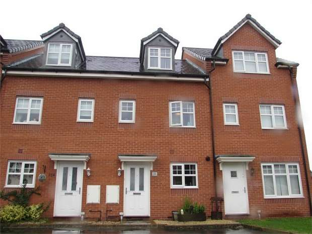 3 Bedrooms Town House for sale in Deerfield Close, St Helens, Merseyside