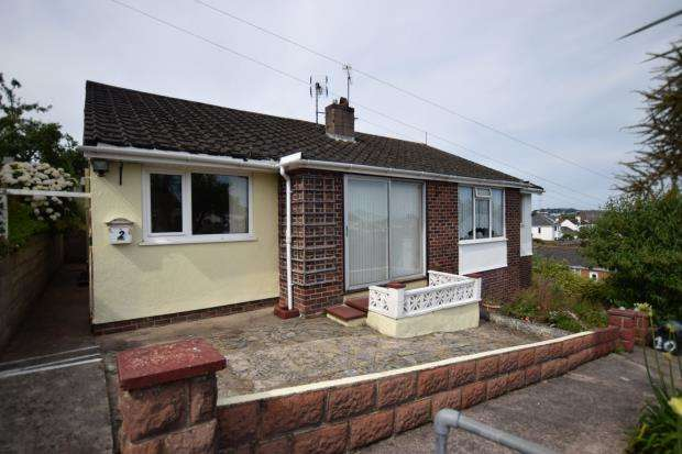 2 Bedrooms Semi Detached Bungalow for sale in Lower Park, Southfield Road, Paignton, Devon
