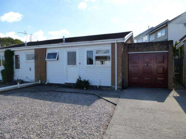 1 Bedroom Semi Detached Bungalow for sale in Sunningdale Road, Saltash, Cornwall