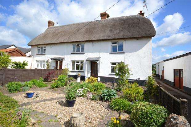 3 Bedrooms Semi Detached House for sale in Laburnum Cottages, Church Street, Sidford, Sidmouth