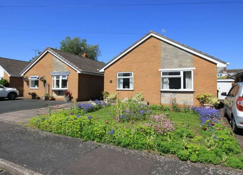 2 Bedrooms Detached Bungalow for sale in Cherry Tree Close, Stone