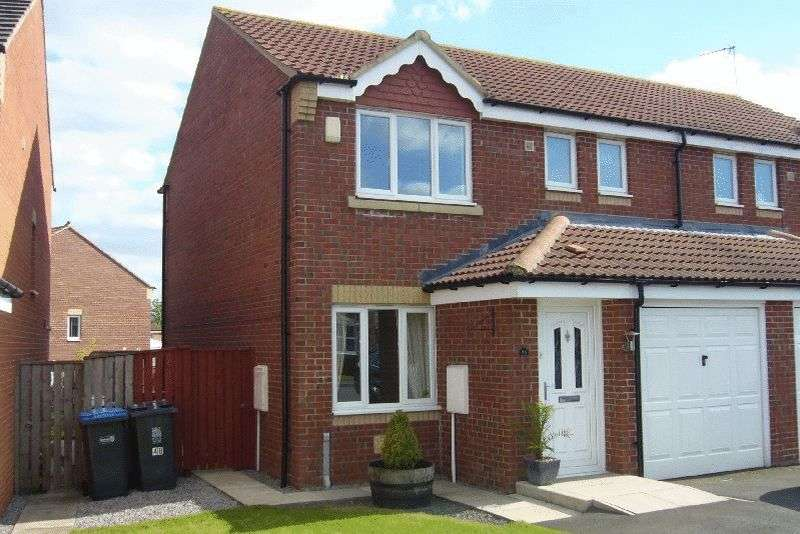 3 Bedrooms Semi Detached House for sale in Richardson Court, Willington,