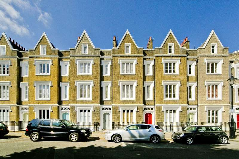 4 Bedrooms Terraced House for sale in Lonsdale Square, Barnsbury, N1