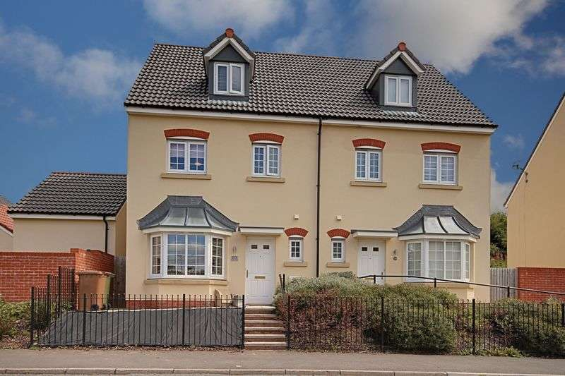 4 Bedrooms Semi Detached House for sale in Tirfilkins Close, Blackwood