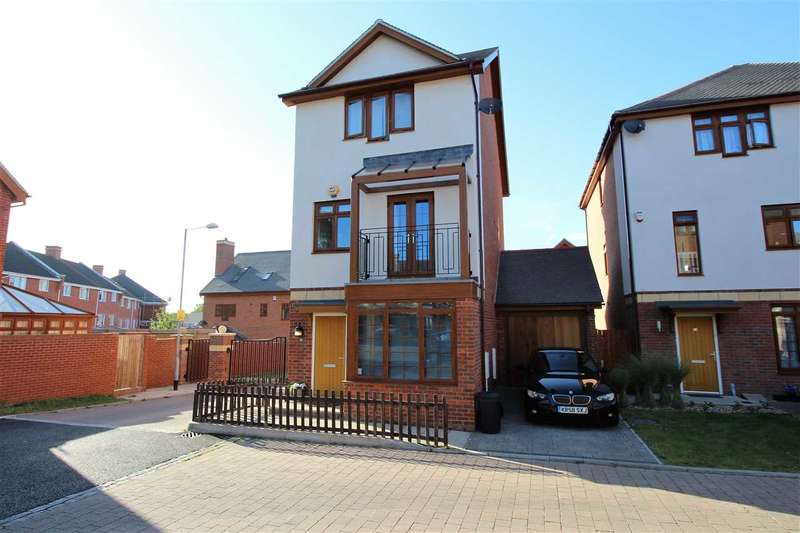 4 Bedrooms Detached House for sale in Blagrove Crescent, Ruislip