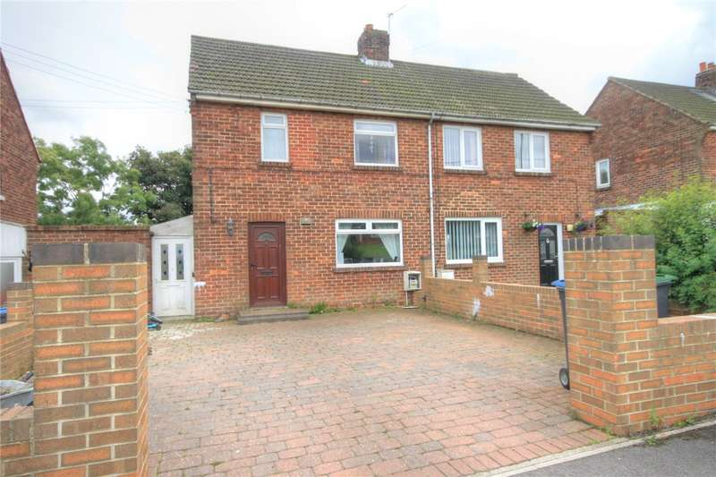2 Bedrooms Semi Detached House for sale in Vale View, Burnhope, Durham, DH7