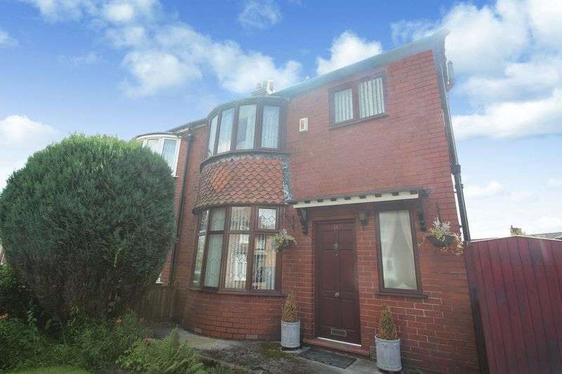 3 Bedrooms Semi Detached House for sale in Lonsdale Avenue, Rochdale OL16 5HP