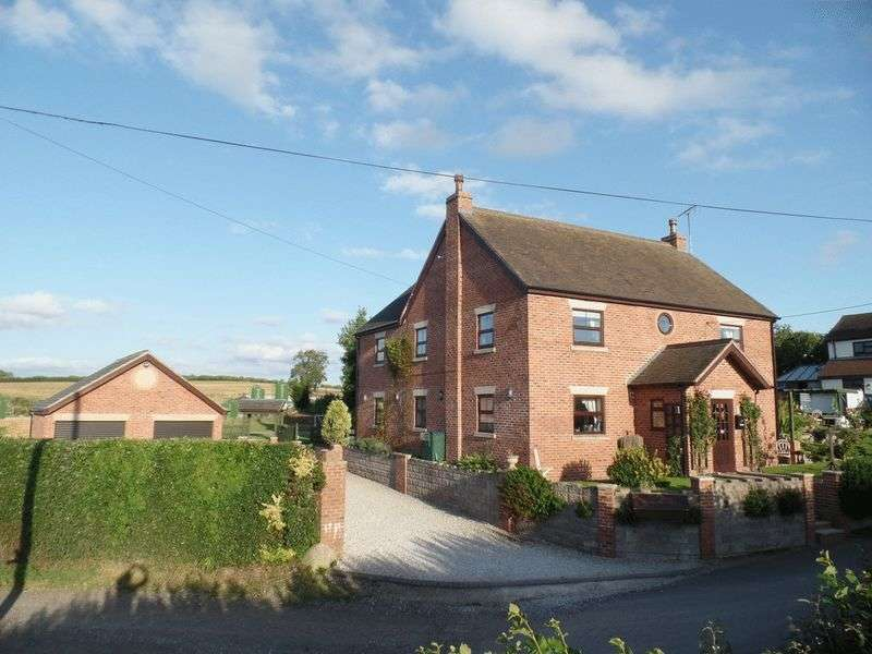 5 Bedrooms Detached House for sale in Park Lane, High Offley, Stafford