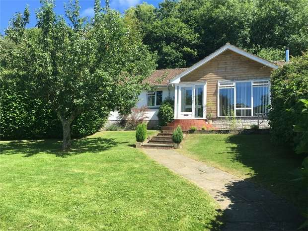 4 Bedrooms Detached Bungalow for sale in Sterridge Valley, Berrynarbor, Devon