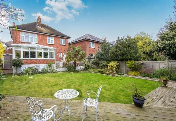 4 Bedrooms Detached House for sale in Linwood Road, Bournemouth, Dorset