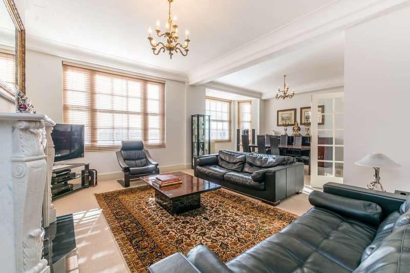 3 Bedrooms Flat for sale in George Street, Marylebone, W1H
