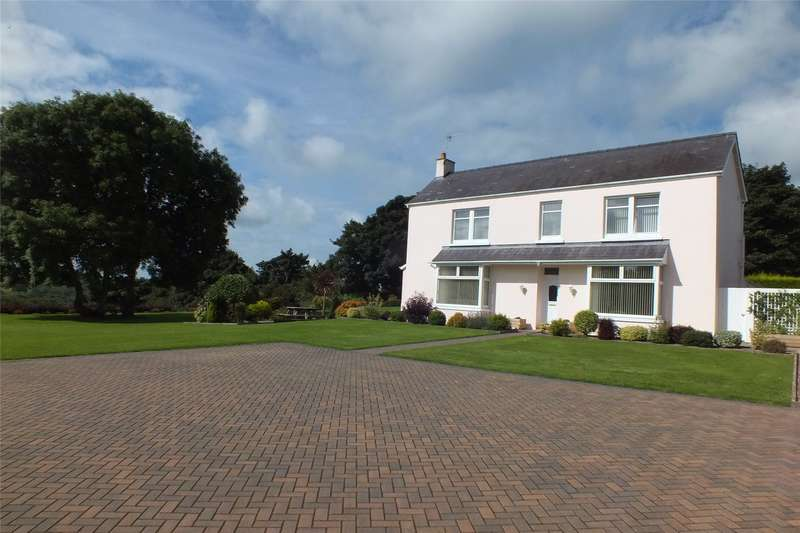 4 Bedrooms Detached House for sale in The Grange, Wooden, Saundersfoot, Pembrokeshire