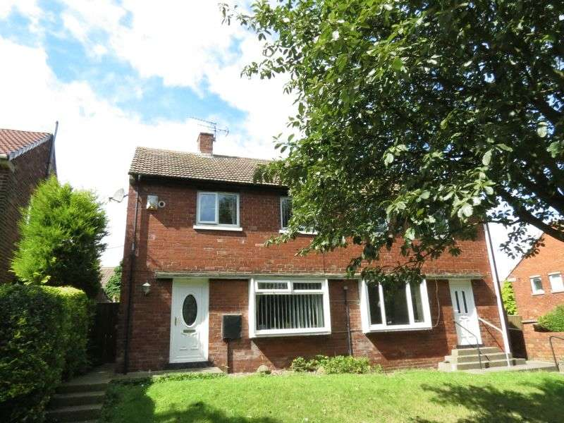 2 Bedrooms Semi Detached House for sale in Chapel Hill Road, Peterlee