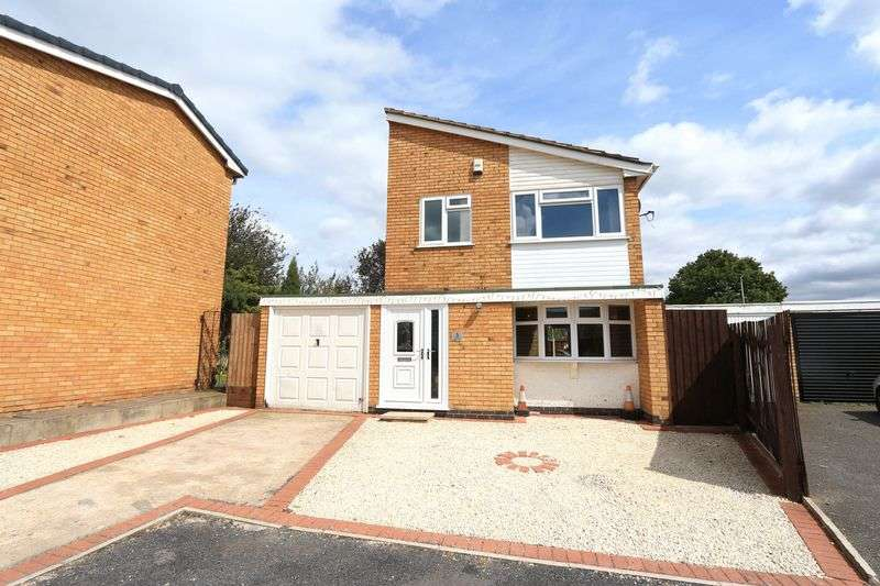 3 Bedrooms Detached House for sale in Badgers Close, Leicester
