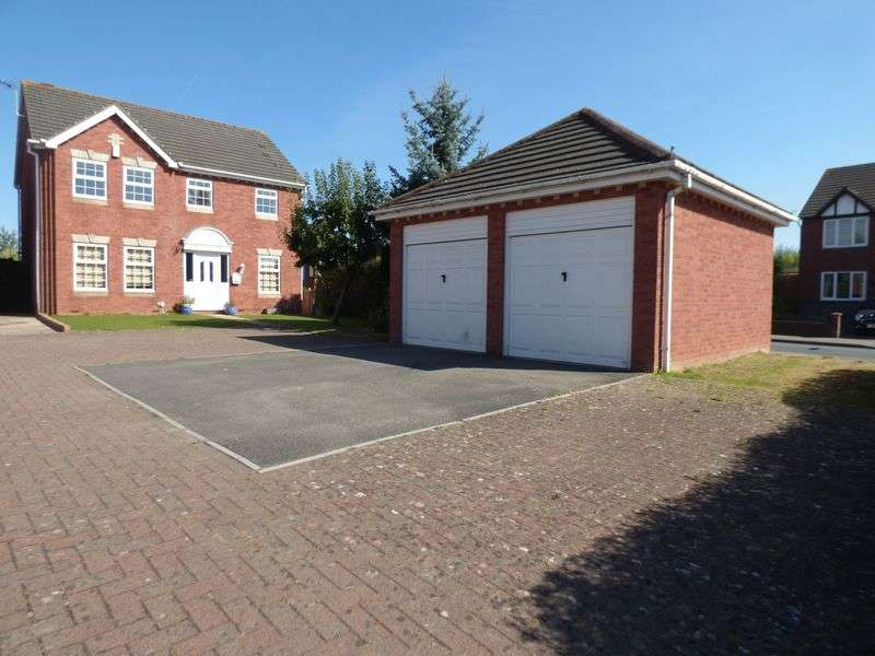 4 Bedrooms Detached House for sale in Pegasus Gardens, Gloucester