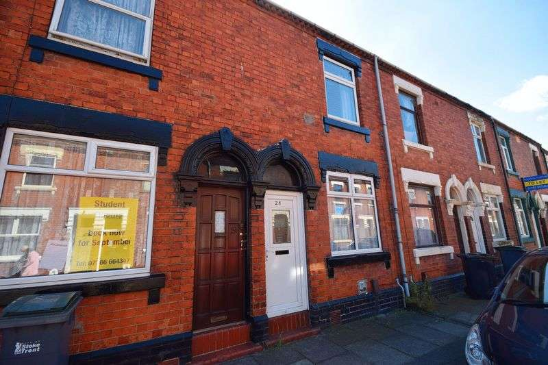 2 Bedrooms Terraced House for sale in Crowther Street, Shelton
