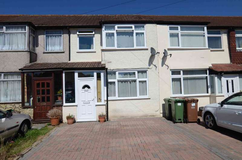 3 Bedrooms Terraced House for sale in Old Farm Avenue, Sidcup, DA15 8AN