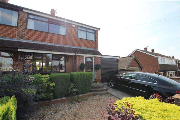 3 Bedrooms Semi Detached House for sale in Westonfields Drive, Westonfields, Longton, Stoke-on-Trent