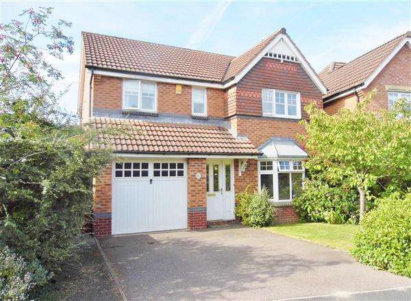 4 Bedrooms Detached House for sale in Lakewood Drive, Birmingham