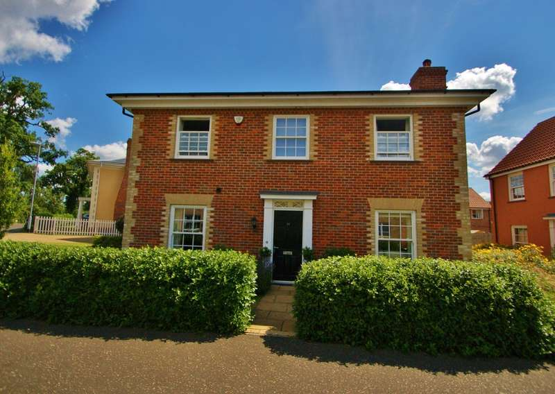 4 Bedrooms Detached House for sale in Kevill Davis Drive, Little Plumstead, Norwich