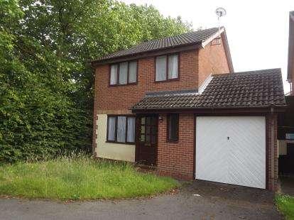 3 Bedrooms Detached House for sale in Attlebridge Close, Derby, Derbyshire